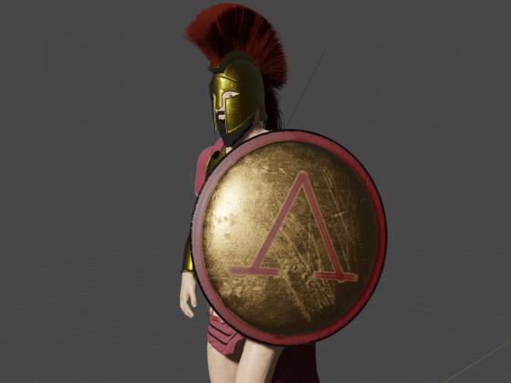 Spartan Warrior