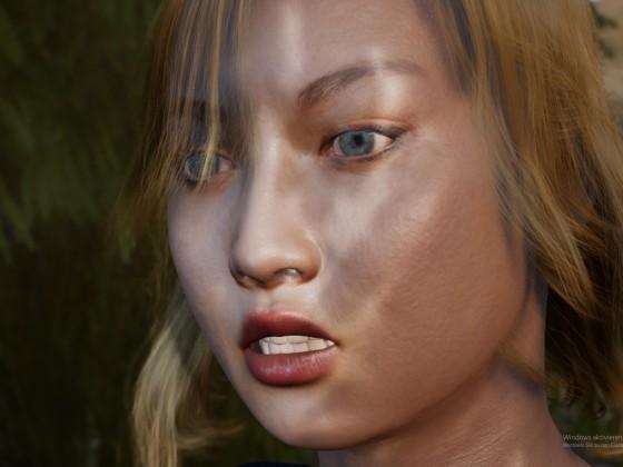 Asian Girl WIP