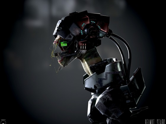 Alien Soldier Bust