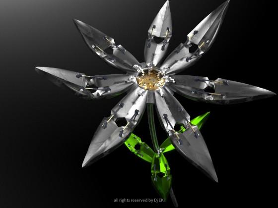 Steam Blume