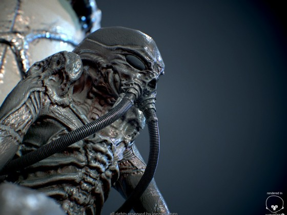 Giger Style Diver