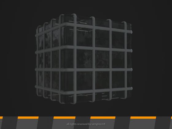 Procedural Glass/Window Texture