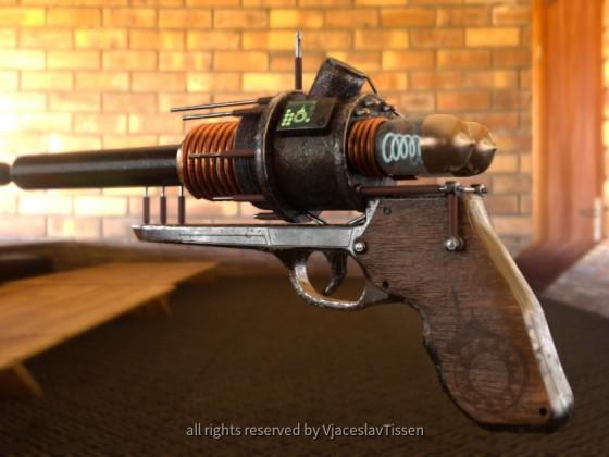 Tesla Punk - Handgun