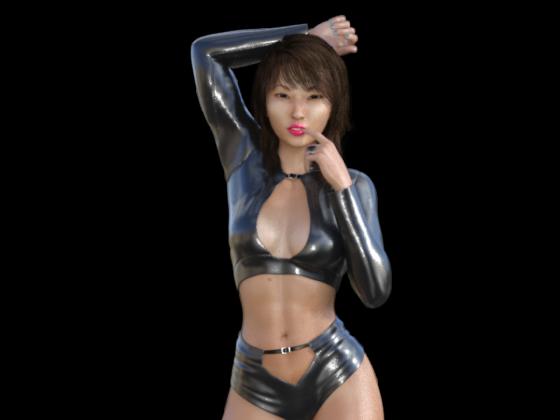 Japanese Disco Girl #3