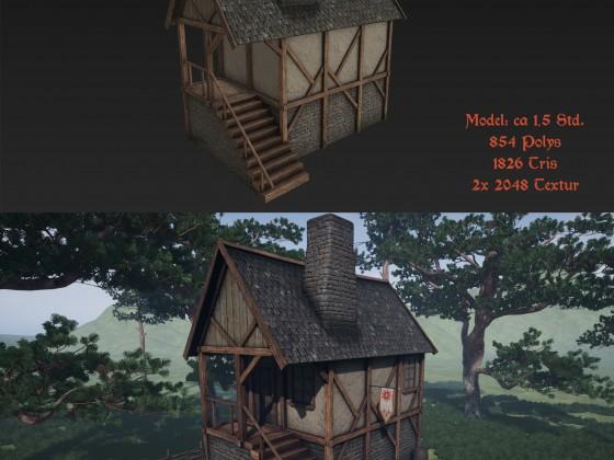 Mittelalter Haus