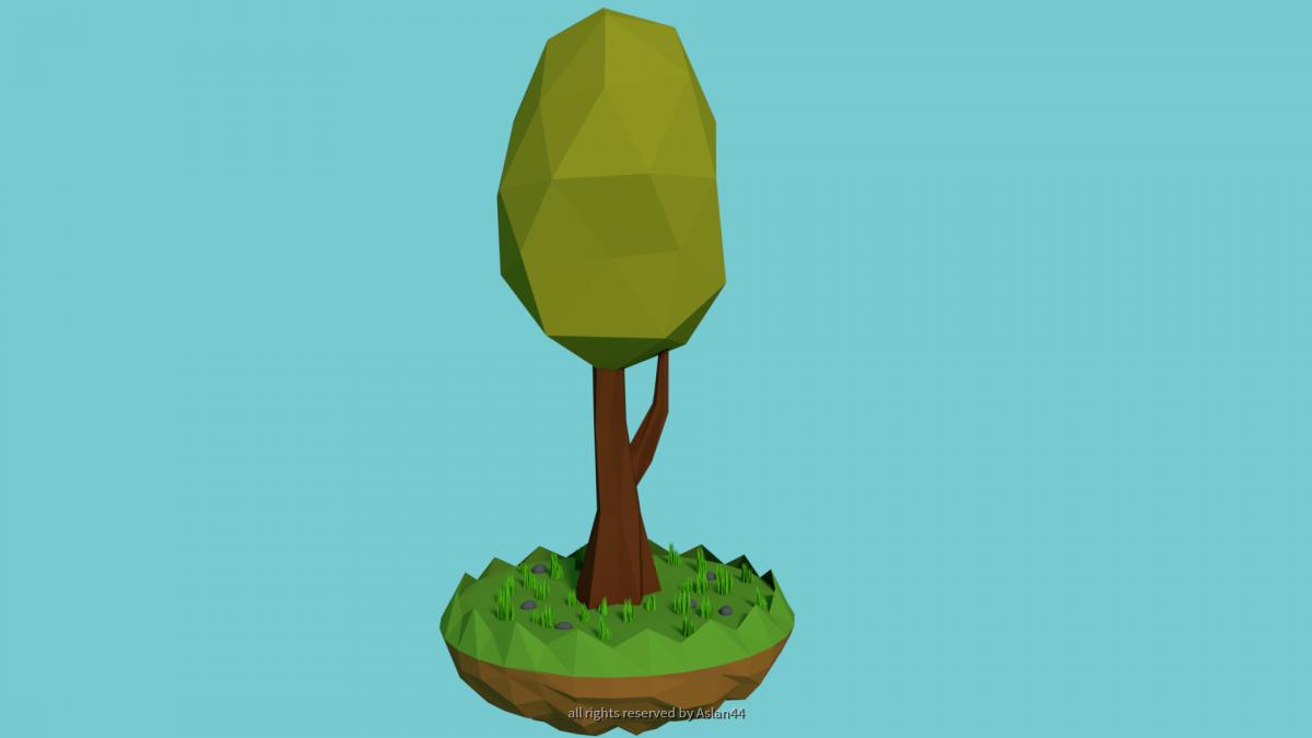 Low Poly Tree 2