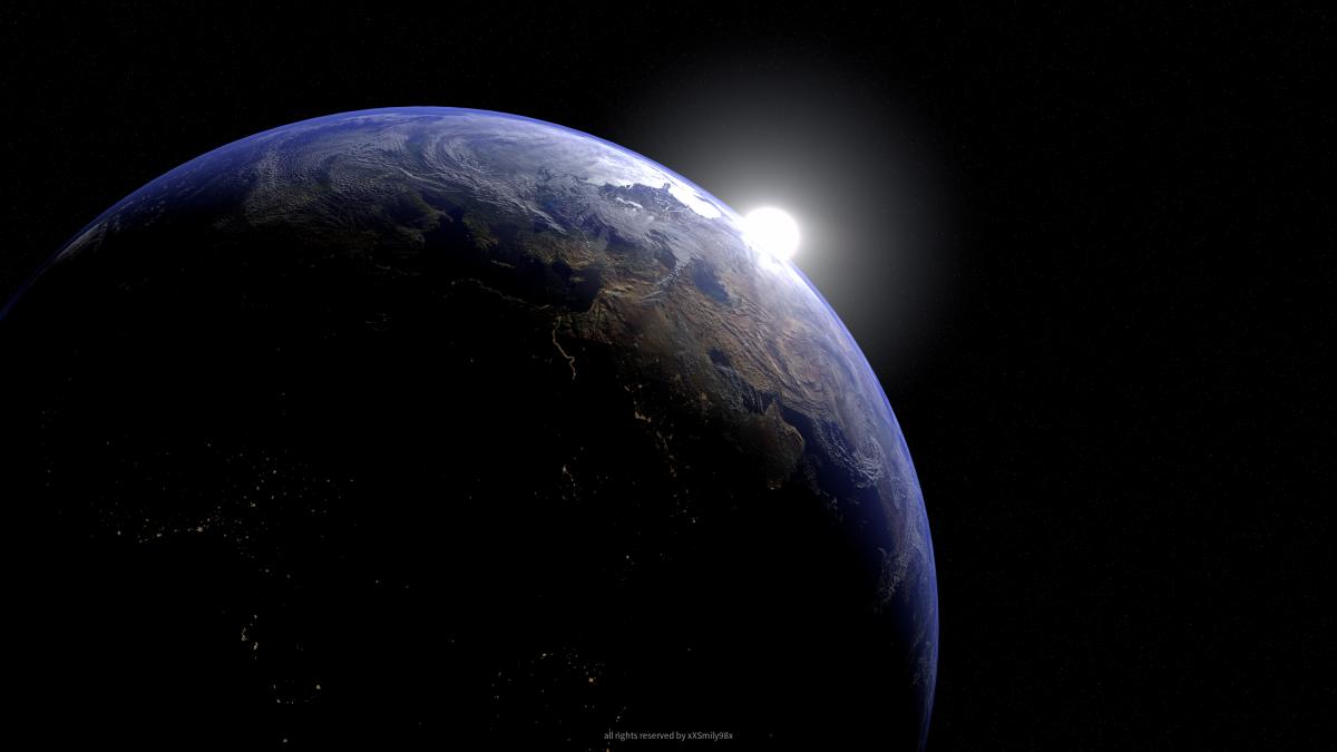 Earth Scene(NewVersion)