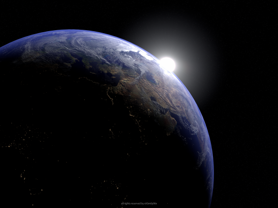 Earth Scene(NewVersion)