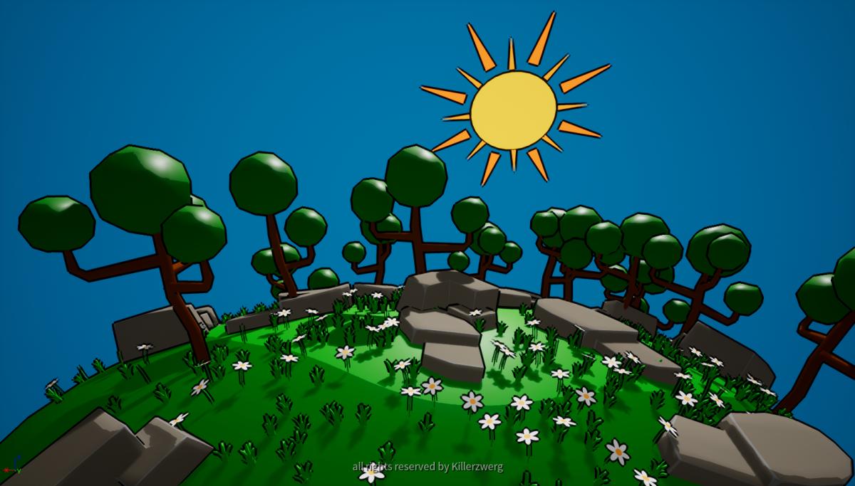Cartoon Forest Environment