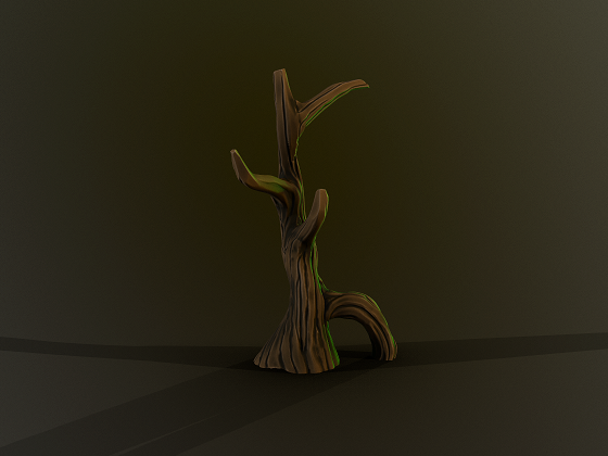 Simple Stylized Tree