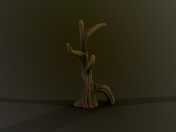 Simple Stylized Tree