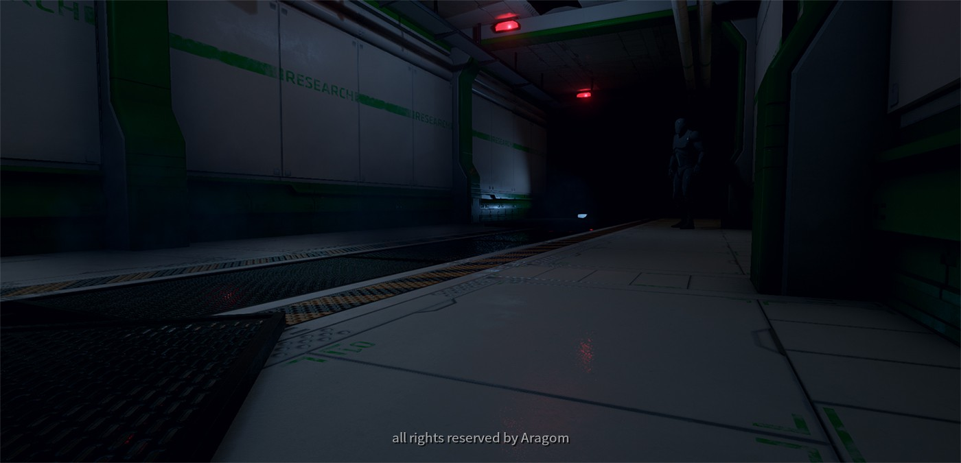 Sci-Fi-Floor Clear-Lab Design