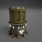 Sci fi trashcan