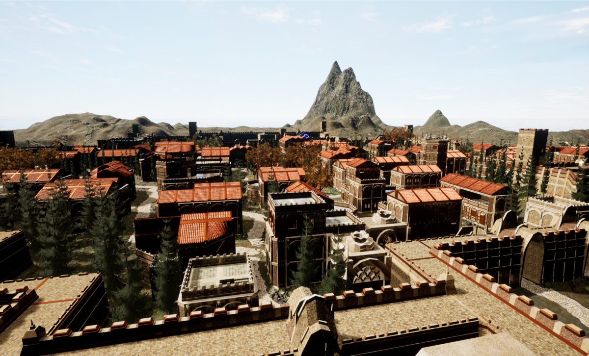 Fantasy Midage village