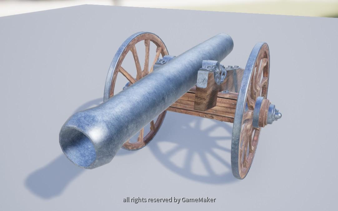 Kanone Vorne