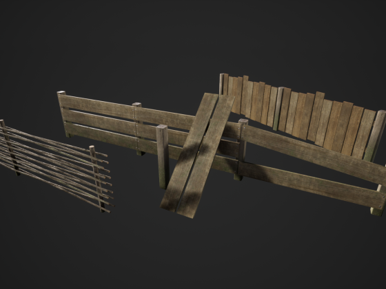 Fence Asset Pack v1