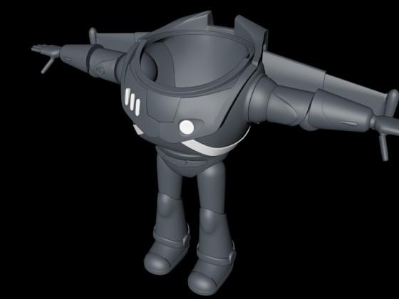 Buzz Lightyear fast fertig