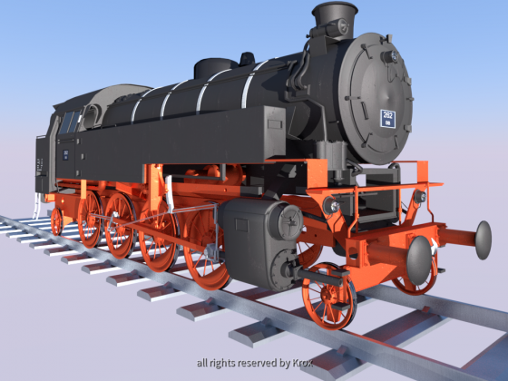 FKE 262 Dampflokomotive