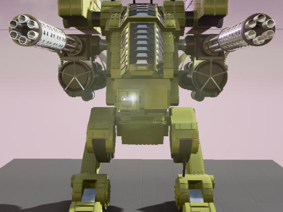 WarriorMechFront