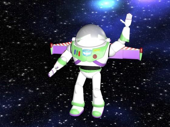 Buzz Lightyear wink