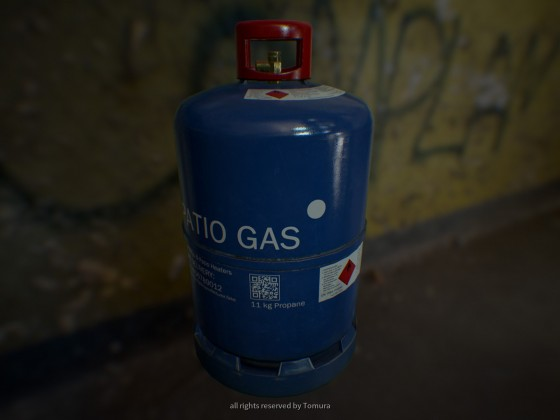 Gasflasche (rendered in UE4)