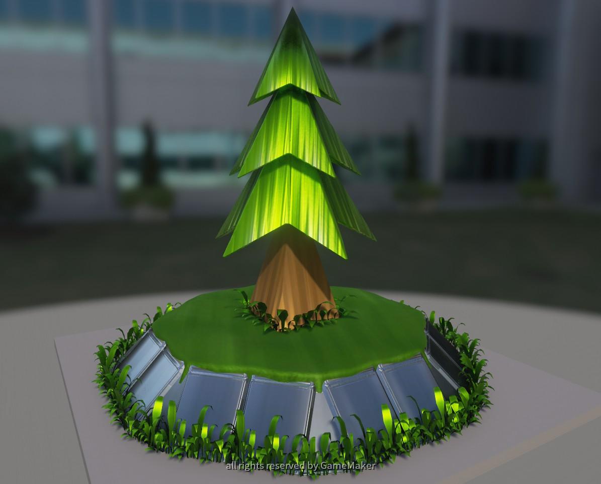 SSSV - Baum auf Plattform