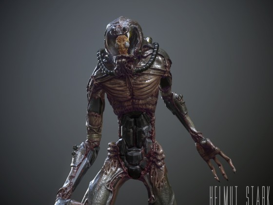 Biomech Suit (Realtime)