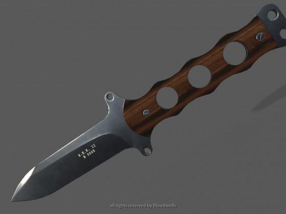 Kampfmesser S.E.K II