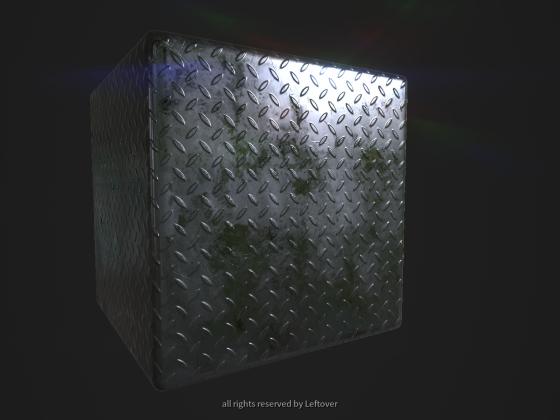 Metal Floor Material