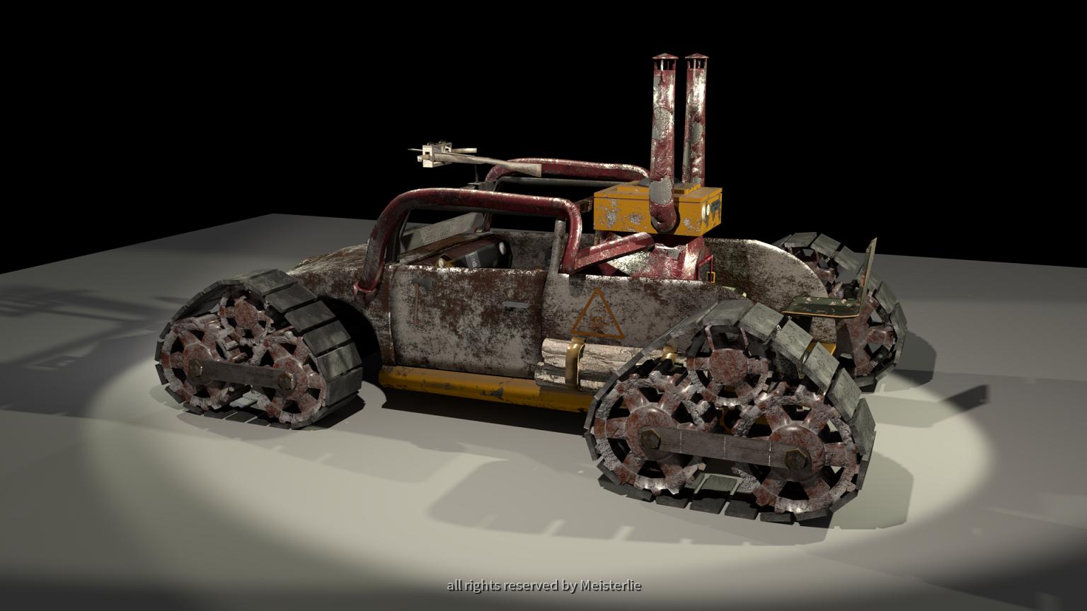 Selfmade Apocalyptic Car