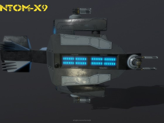 Spaceship Phantom X