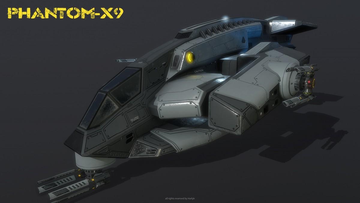 Spaceship Phantom X