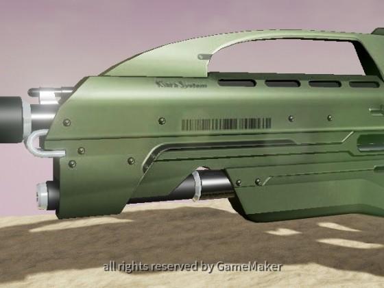 Sci-Fi Sturmgewehr