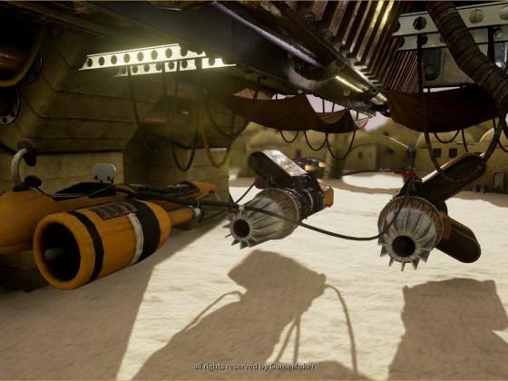 Plug-F Mammoth von Sebulba - Hinteransicht