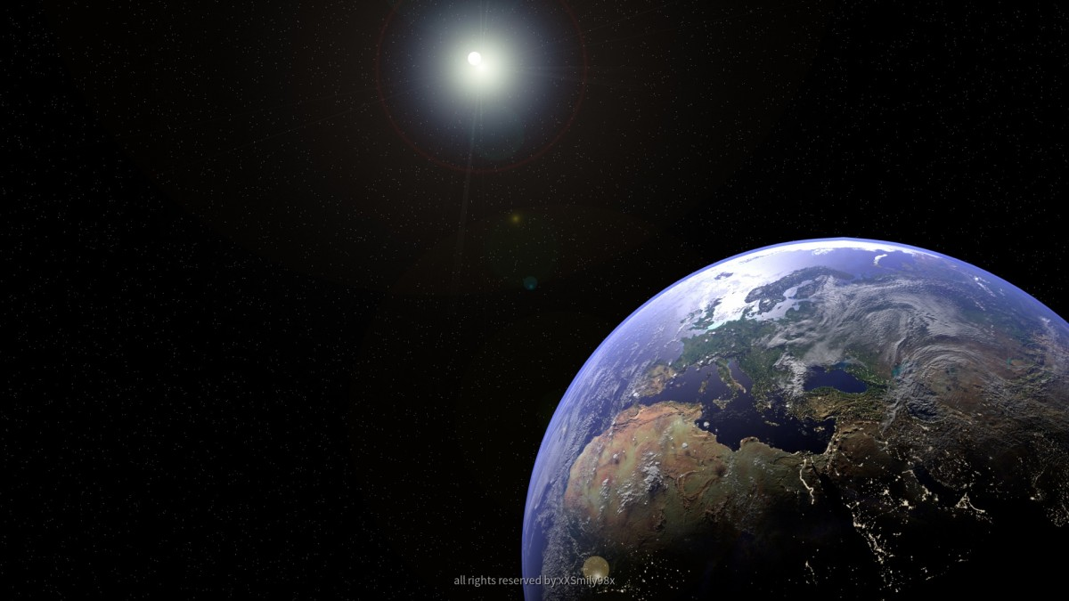 Earth Scene