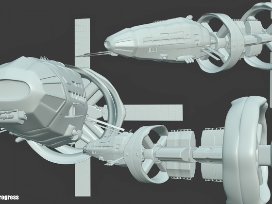 Work in Progress, SciFi Ship