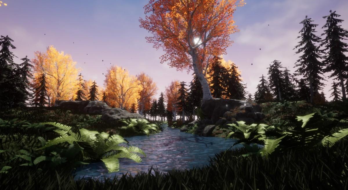 Finale Version der Forestscene