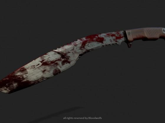 Kukri(Blut verschmiert)