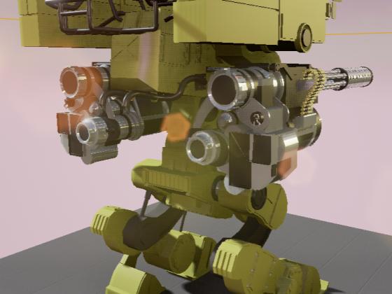 WarriorMechBack
