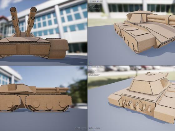 Cardboard Wars - Tank