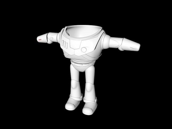 Buzz Lightyear mittendrinn